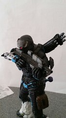 (Sniper0092) Tags: black female halo figure reach custom pilot