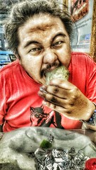 HDR using Mobile - EAT!!!! (sunokie) Tags: food mobile philippines eat hdr nokie armynavy boritos casido