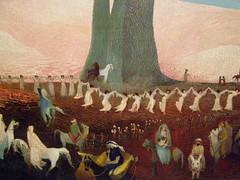 Csontvry, Pilgrimage to the Cedars in Lebanon, 1907 (DeBeer) Tags: lebanon art painting cedar pilgrimage cedars naiveart symbolism 1907 csontvry naivepainting hungarianart slovakart slovakpainting hungarianpainting tivadarkosztkacsontvry teodorkostkacsontvry
