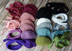 HHH - Happy hats haul (Levitation_inc.) Tags: color cute fashion toys doll handmade ooak crochet caps barbie hats levitation poppy accessories crocheted sets parker accessory integrity nuface