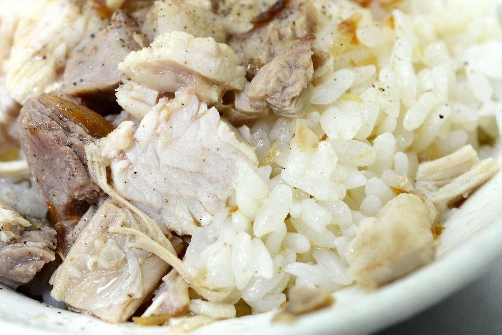 阿霞雞肉飯