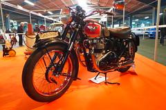 Matchless G9 1956 500cc OHV (Michel 67) Tags: classic vintage motorbike antigua antiguas moto motorcycle ancienne motocicleta motorrad vecchia motocyclette clasica vecchie clasicas motociclette motociclete classik motocyklar motocicletti