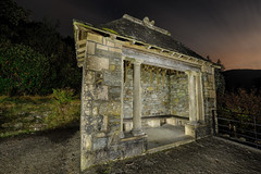 Wright Smith Memorial At Night (Click And Pray) Tags: longexposure night landscape scotland argyll scottish paintingwithlight hoodedfigure holyloch pwl hooded benmore benmorebotanicgarden landscapeformat youngergardens managedbyclickandpraysflickrmanagr wrightsmithmemorial benmorebotanicgardenholylochpwlpaintingwithlightlongexposurelandscapeformatlandscapescotlandscottishargyllbenmorenightwrightsmithmemorialyoungergardenshoodedhoodedfiguregbr