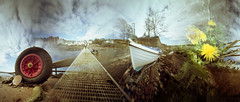 Walk and Snap (wheehamx) Tags: colour pinhole blend ayrshire fairlie