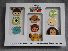Disney Tsum Tsum Pin-Set (sh0pi) Tags: mike monster set king pin lion mother pins disney boo le ag simba pascal limited edition mutter der rapunzel 1000 inc pumba disneystore sulley tangled timon knig the lwen 2016 tsum anstecknadeln gothel tsums glotzkowsky