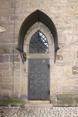 Medieval door (quinet) Tags: castle germany schloss chteau 2012 castleroad burgenstrase