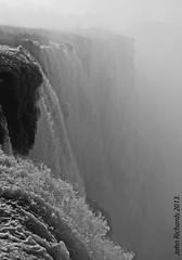 B&W Close Up. Iguazu Falls. (john.richards1) Tags: argentina up river nikon close falls waterfalls iguazu d80