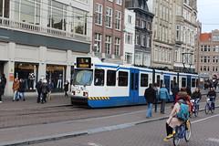 Amsterdam, Koningsplein (Davydutchy) Tags: holland netherlands amsterdam canal trolley capital hauptstadt nederland tram 905 streetcar paysbas niederlande gracht gvb koningsplein hoofdstad strasenbahn