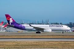N373HA (hsuenmin) Tags: airbus hawaiian lax takeoff a330 spotting klax n373ha