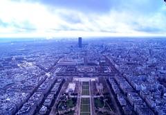 Paris (gwendoline.lereste) Tags: city paris france view eiffeltower toureiffel capitale vue champsdemars ville sommet