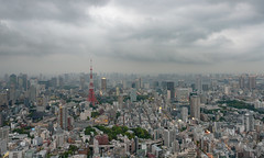 view from Tokyo City View SKY deck (rhythmsift) Tags: japan tokyo sony cybershot tokyotower roppongi roppongihills skydeck tokyocityview dscr1 lightroomcc20155