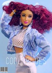 Barbie Magazine- APRIL 2016 (Plastic Beauty) Tags: doll dolls barbie mattel barbiedoll fashionistas fashionfever coolblues barbiemagazine 1980sbarbie fashionistasbarbie fashionistasdoll