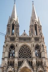 20160418 Provence, France 02398 (R H Kamen) Tags: france church architecture marseille neogothic buildingexterior provencealpesctedazur bouchedurhone lacanebiere rhkamen
