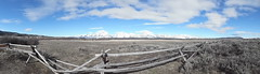 SAM_0380 (erindd4) Tags: sky snow mountains clouds fence rustic grand tetons