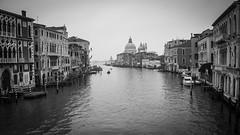 Canale Grande (SLpixeLS) Tags: venice italy white black canal grande italia noir et venise venezia vignette blanc italie canale