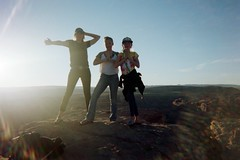 Semi Silhouettes (cora.sims13) Tags: arizona grandcanyon page disposablecamera lakepowell disposable horseshoebend