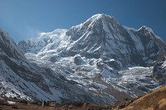 Almost there (Pooja Pant) Tags: nepal mountains beautiful trek abc annapurna annapurnabasecamp macchapuchre