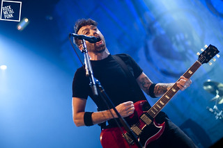 November 11th, 2014 // Rise Against at AB Brussels, Belgium // Shot by Daria Colaes
