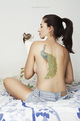 Romi (Sil Mareco) Tags: woman cats nude photography nikon skin photos