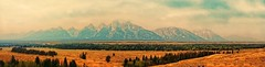 GRANDEUR (Irene2727) Tags: panorama mountains ex nature clouds landscape nationalpark pano text ngc wyoming tetons scape