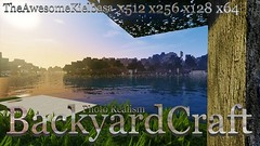 BackyardCraft Photo Realism Resource Pack 1.8.9 (TonyStand) Tags: game 3d gaming minecraft
