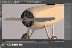 SPADXIII-WIP 13 (StratoArt) Tags: history 3d aircraft aviation military wwi cinema4d warbird biplane warplane spad xiii