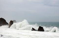 IMG_0900 (49Carmelo) Tags: olas rocas acantilados marcantbrico cielocubierto costaquebrada losurros temporalenero2016