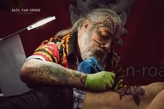 Tattoo Messe Erlangen (Imaginarium 2.1) Tags: color face tattoo ink germany bayern deutschland bavaria skull skin body contest messe mylife nrnberg erlangen nuernberg bvs bazilvansinnerphotography 30012016 tattoomesseerlangen