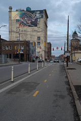 High Up Mural on Penn Ave (pasa47) Tags: winter pittsburgh pennsylvania pa fujifilm february 2016