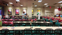 Empty Tables After The Party (Joe Shlabotnik) Tags: cameraphone chuckecheeses sarahp 2015 bliksem june2015 galaxys5