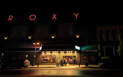 Considerate (Note-ables by Lynn) Tags: theatre nightscene roxy owensound considerate