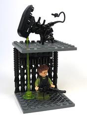Loogie! (Grantmasters) Tags: marine lego aliens smartgun xenomoprh