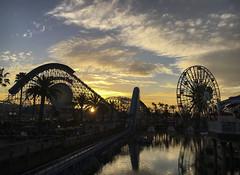 CA Adventure Sunset (evaxebra) Tags:
