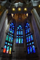 Blues (lukemarkof) Tags: barcelona leica city travel light shadow black art classic church fairytale dark happy spain europe exposure play view 28mm style funky special exotic gaudí lasagradafamilia depth interest built challenging leicaq teamyoungmarkof