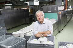 Mr Pang Pok, Chairman, GS Holdings Limited (CleaningAsia.com) Tags: woodlands ipo dishwashing gs imm cleaningcompany gsholdings centraliseddishwashing pangpok dishwashingcompany