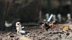 TRAITOR!!! (3rd-Rate Photography) Tags: canon toy actionfigure 50mm starwars lego florida traitor figure stormtrooper jacksonville lightsaber finn minifigure firstorder toyphotography tr8r earlware 3rdratephotography theforceawakens