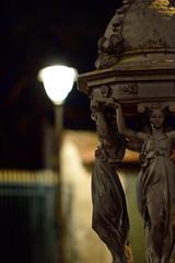 Fontaine (robwun) Tags: fountain statue night bluehour fontaine nuit heurebleue stdizier