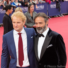 Jason Clarke et Baltasar Kormakur pour le film Everest (Thierry Sollerot) Tags: jason film festival movie direction cast everest clarke cid deauville amricain baltasar interprtation ralisation kormakur