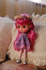DSC_0075 (2) (Lindy Dolldreams) Tags: girl doll custom blythedoll rosezie noraooakcustomblythe