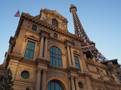 Pavillon Turgot - Paris Las Vegas (Richard Pilon) Tags: city urban building architecture lasvegas nevada lasvegasboulevard