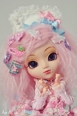 Cotton Candy Hair (Au Aizawa) Tags: pink fashion japanese doll sweet lolita mohair pullip decora angelicpretty papin decorationdream