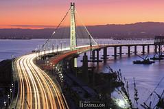 The Bay Bridge (Erick Castelln) Tags: longexposure sunrise landscape baybridge bayarea landscapephotography
