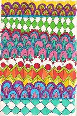 Doodle 108 (kraai65) Tags: pattern drawing doodle tangle zentangle colourdoodle zendoodle