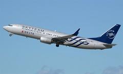 Delta Skyteam Livery 737-800 (N3758Y) LAX Takeoff (hsckcwong) Tags: lax 737800 deltaairlines skyteam n3758y skyteamlivery