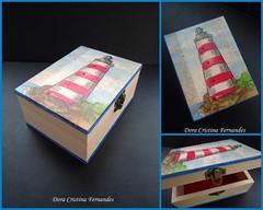 Caixa Martima (Dora Cristina Fernandes) Tags: handmade crafts feitomo artesanal felt recuerdo souvenir feltro decorao decoupage manualidades lembrancinha caixasdecoradas