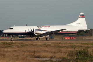 IFL Group Convair (Kelowna Flightcraft) CV-5800 N391FL MMMD 08FEB16