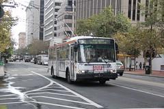 2001-2003 ETI 14TrSF #5531 (busdude) Tags: bus electric san francisco trolley railway muni municipal trolleybus skoda eti trolleycoach 14trsf