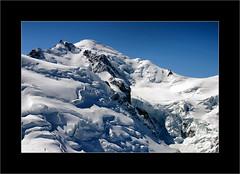Mont Blanc (Stuart Kingston Photography) Tags: snow alps french peak summit chamonix montblanc