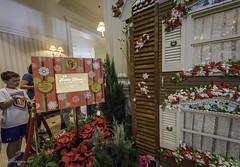 Gingerbread House @ Disney's Grand Floridian 03 (Juneau Biscuits) Tags: christmas vacation holiday resort wreath gingerbreadhouse wdw waltdisneyworld orlandoflorida disneysgrandfloridianresort mmousemercantile