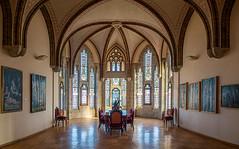 Palacio episcopal, una sala (dnieper) Tags: espaa spain gaud len astorga palacioepiscopal museodeloscaminos sonydscrx100m3